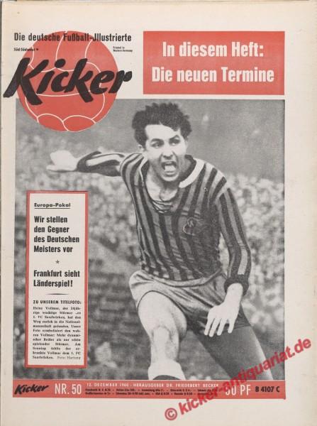Kicker Nr. 50, 12.12.1960 bis 18.12.1960