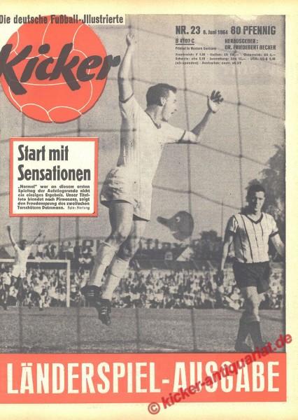 Kicker Nr. 23, 8.6.1964 bis 14.6.1964