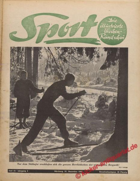 Sportmagazin Nr. 52, 31.12.1947 bis 6.1.1948