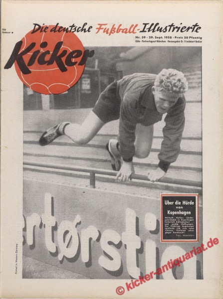 Kicker Nr. 39, 29.9.1958 bis 5.10.1958