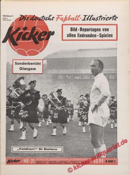 Kicker Nr. 21, 23.5.1960 bis 29.5.1960