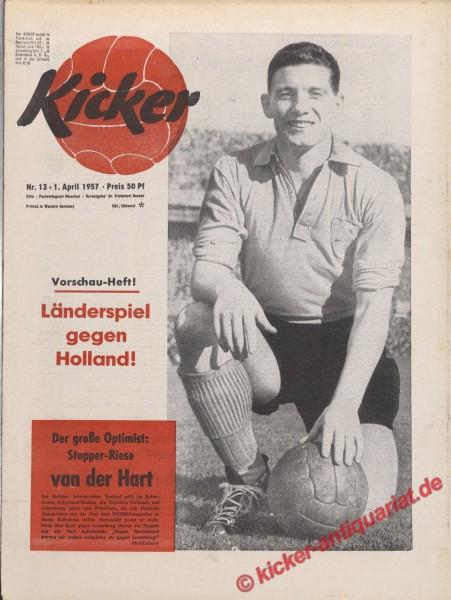 Kicker Nr. 13, 1.4.1957 bis 7.4.1957