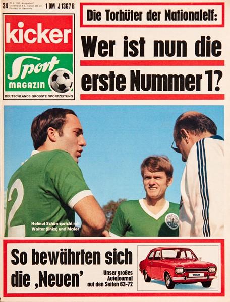 Kicker Sportmagazin Nr. 34, 27.4.1969 bis 3.5.1969