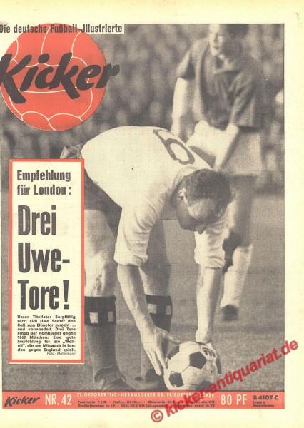 Kicker Nr. 42, 21.10.1963 bis 27.10.1963