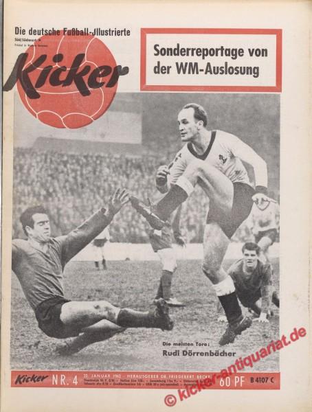 Kicker Nr. 4, 26.1.1962 bis 1.2.1962