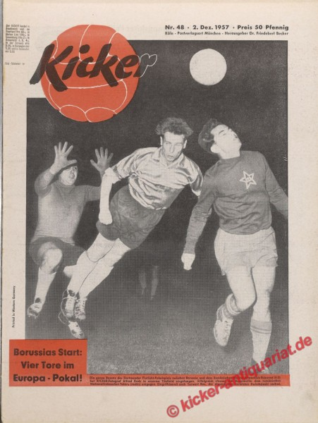 Kicker Nr. 48, 2.12.1957 bis 8.12.1957