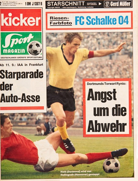 Kicker Sportmagazin Nr. 72, 8.9.1969 bis 14.9.1969