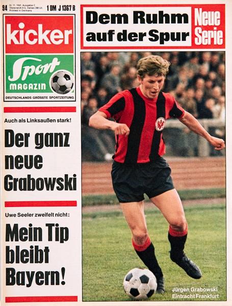 Kicker Sportmagazin Nr. 94, 24.11.1969 bis 30.11.1969