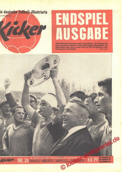 Kicker Nr. 26, 29.6.1963 bis 5.7.1963