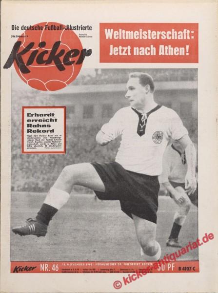 Kicker Nr. 46, 14.11.1960 bis 20.11.1960