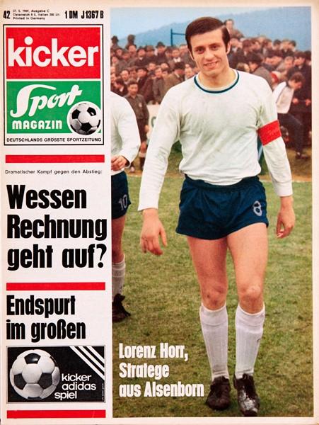 Kicker Sportmagazin Nr. 42, 27.5.1969 bis 2.6.1969