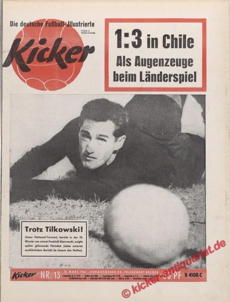 Kicker Nr. 13, 30.3.1961 bis 5.4.1961