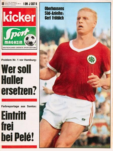 Kicker Sportmagazin Nr. 80, 6.10.1969 bis 12.10.1969