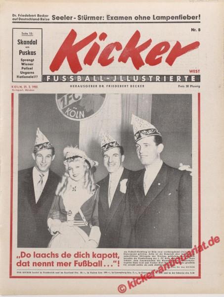 Kicker Nr. 8, 21.2.1955 bis 27.2.1955