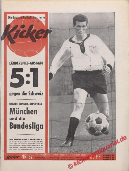 Kicker Nr. 52, 24.12.1962 bis 30.12.1962