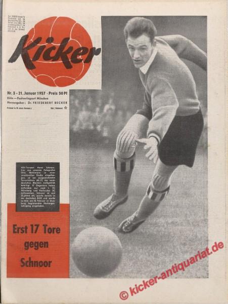Kicker Nr. 3, 21.1.1957 bis 27.1.1957
