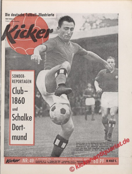 Kicker Nr. 49, 3.12.1962 bis 9.12.1962