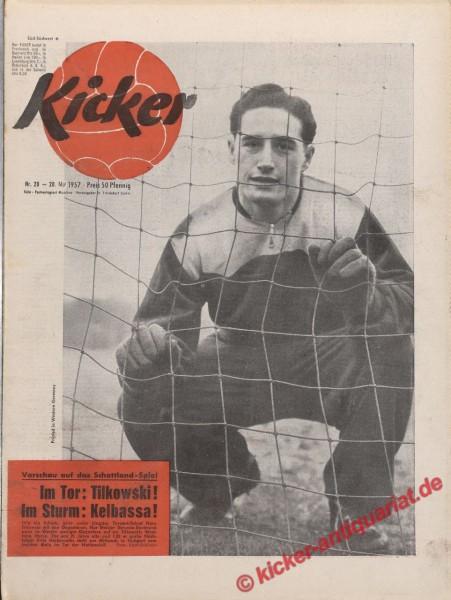 Kicker Nr. 20, 20.5.1957 bis 26.5.1957