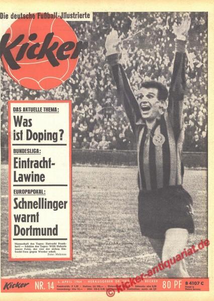 Kicker Nr. 14, 6.4.1964 bis 12.4.1964