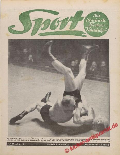 Sportmagazin Nr. 48, 3.12.1947 bis 9.12.1947