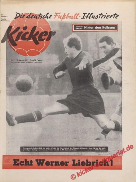 Kicker Nr. 2, 12.1.1959 bis 18.1.1959
