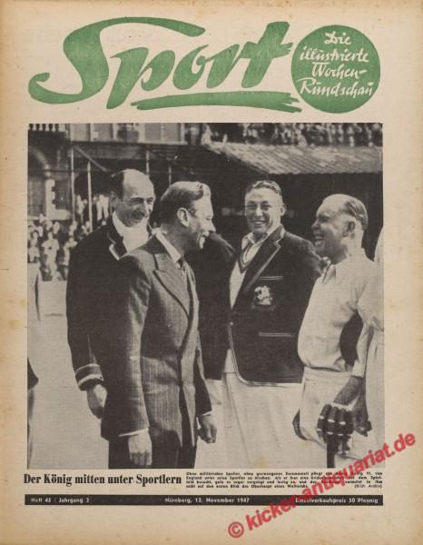 Sportmagazin Nr. 45, 12.11.1947 bis 18.11.1947