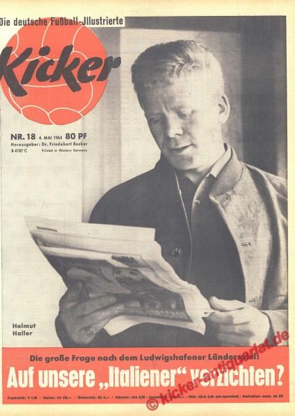 Kicker Nr. 18, 4.5.1964 bis 10.5.1964