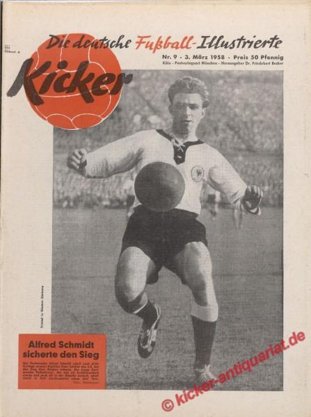 Kicker Nr. 9, 3.3.1958 bis 9.3.1958