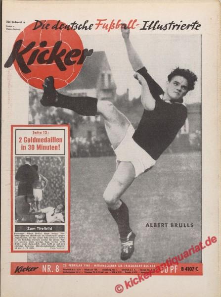Kicker Nr. 8, 22.2.1960 bis 28.2.1960