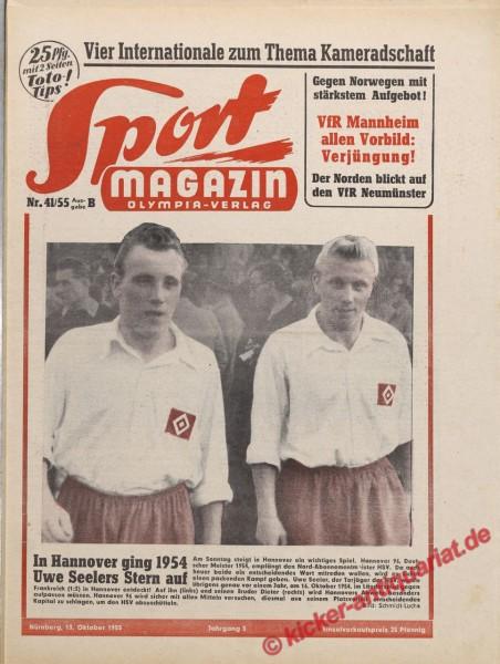Sportmagazin Nr. 41B, 13.10.1955 bis 19.10.1955