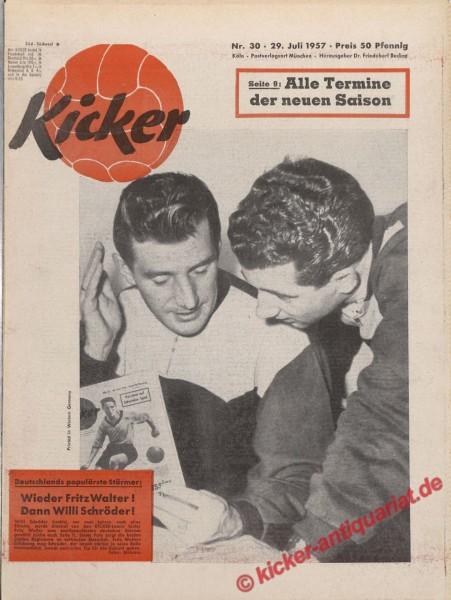 Kicker Nr. 30, 29.7.1957 bis 4.8.1957