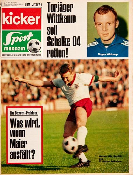 Kicker Sportmagazin Nr. 4, 13.1.1969 bis 19.1.1969