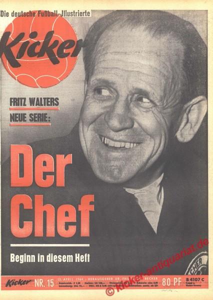 Kicker Nr. 15, 13.4.1964 bis 19.4.1964