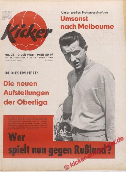 Kicker Nr. 28, 9.7.1956 bis 15.7.1956