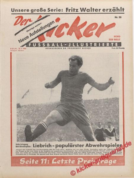 Kicker Nr. 30, 25.7.1955 bis 31.7.1955