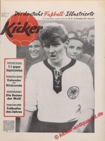 Kicker Nr. 51, 21.12.1959 bis 27.12.1959