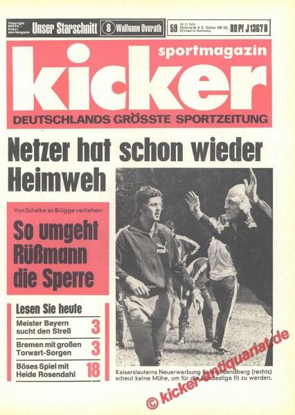 Kicker Sportmagazin Nr. 59, 19.7.1973 bis 25.7.1973