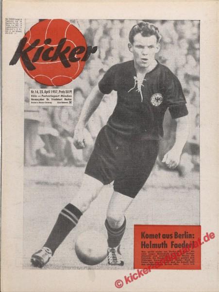Kicker Nr. 16, 23.4.1957 bis 29.4.1957