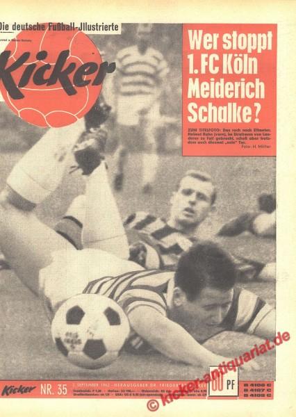 Kicker Nr. 35, 2.9.1963 bis 8.9.1963