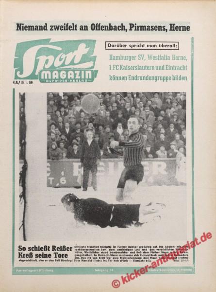 Sportmagazin Nr. 3A, 19.1.1959 bis 25.1.1959