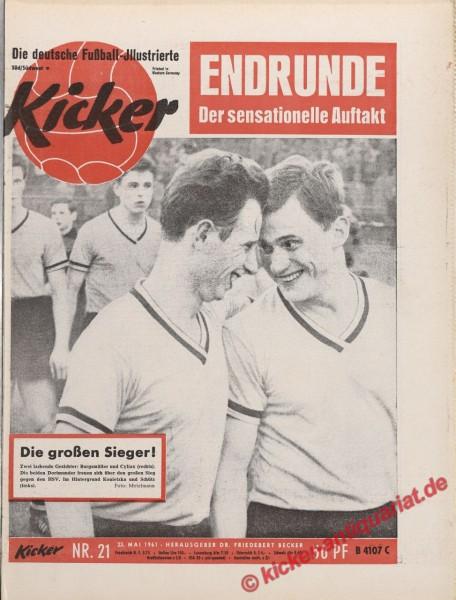 Kicker Nr. 21, 23.5.1961 bis 29.5.1961