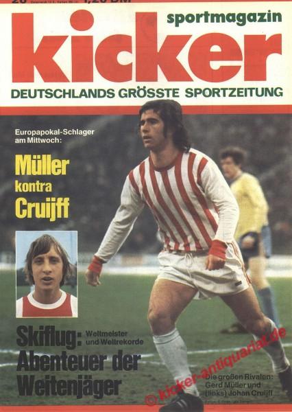 Kicker Sportmagazin Nr. 20, 5.3.1973 bis 11.3.1973