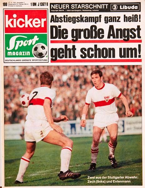 Kicker Sportmagazin Nr. 100, 15.12.1969 bis 21.12.1969