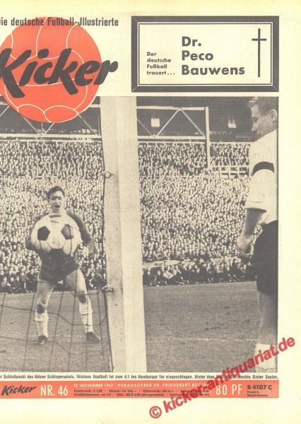 Kicker Nr. 46, 18.11.1963 bis 24.11.1963