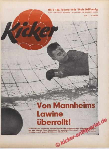 Kicker Nr. 8, 20.2.1956 bis 26.2.1956