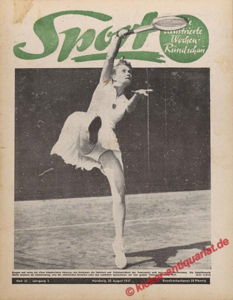 Sportmagazin Nr. 33, 20.8.1947 bis 26.8.1947
