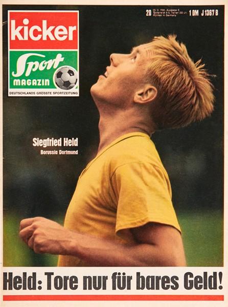 Kicker Sportmagazin Nr. 20, 10.3.1969 bis 16.3.1969