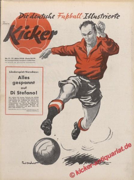 Kicker Nr. 11, 17.3.1958 bis 23.3.1958