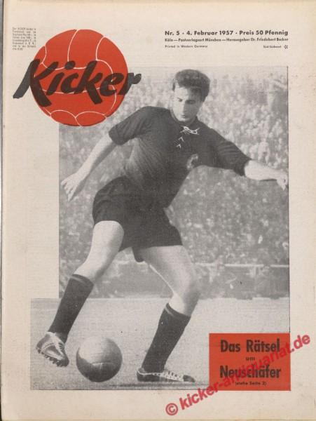 Kicker Nr. 5, 4.2.1957 bis 10.2.1957