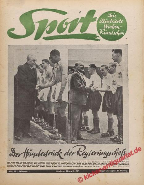 Sportmagazin Nr. 17, 30.4.1947 bis 6.5.1947